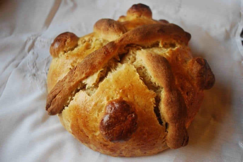 Day of the Dead Bread from Mexico: History and a Recipe