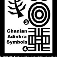 Adinkra Fabric Printing from Ghana