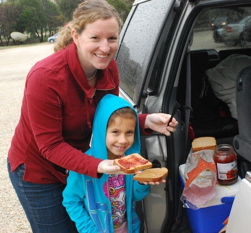 PBJ Sandwiches on the Road- Kid World Citizen