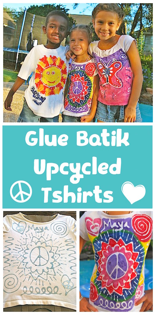 Batik T-shirts for Kids- Kid World Citizen