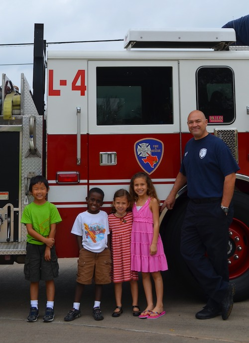 Random Acts of Kindness Firefighters- Kid World Citizen