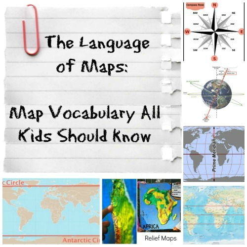 Language of Maps Social Studies Kids- Kid World Citizen