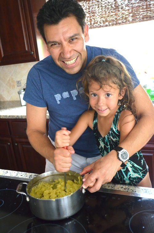 Making Tortilla de Patata- Kid World Citizen