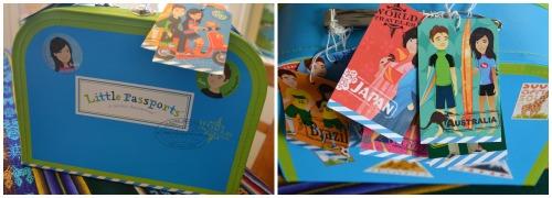 Little Passport Suitcase- Kid World Citizen