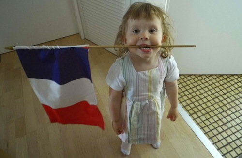 French Flag History- Kid World Citizen