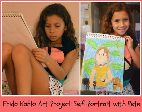 Frida Kahlo Art Project for Kids- Kid World Citizen