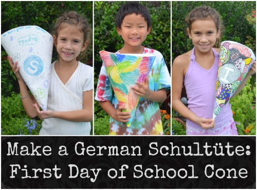 Make a Schultute Germany- Kid World Citizen