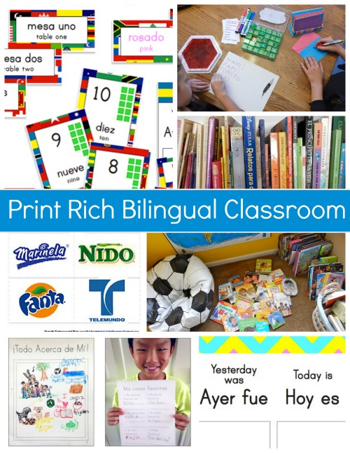 Print Rich Environment Bilingual- Kid World Citizen