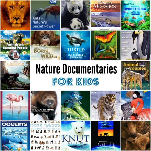 29 Incredible Nature Documentaries for Kids