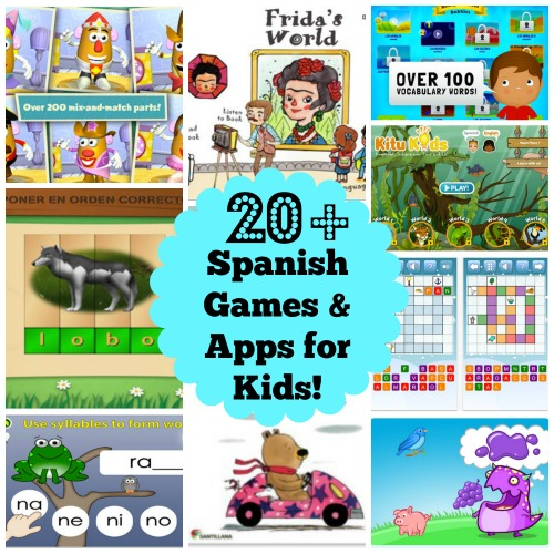 Best Spanish Games Apps Kids- Kid World Citizen