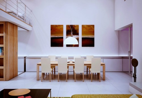 Chiêm ngưỡng vẻ độc đáo với không gian nội thất gỗ của Marc Canut