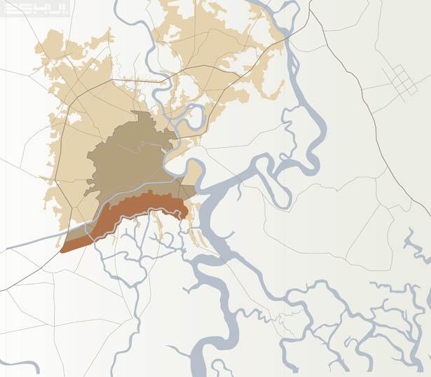 Lược sử quy hoạch phía Nam Sài Gòn tráng lệ