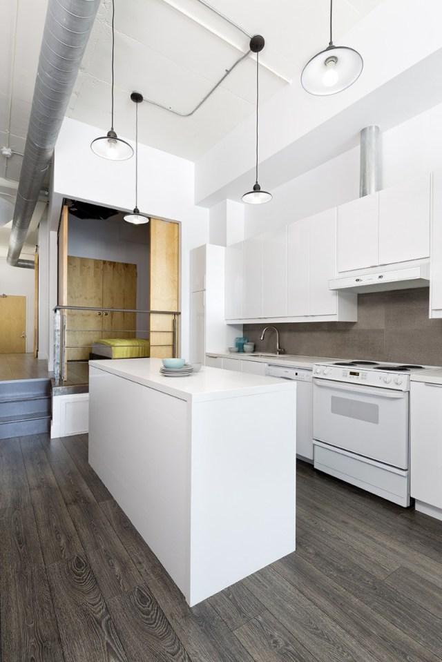 Biến hóa căn hộ lỗi thời trở nên hiện đại với phong cách industrial