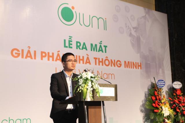 Ông Nguyễn Tuấn Anh – CT HĐQT Công ty Lumi phát biểu khai mạc