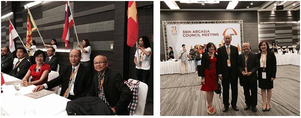Đoàn Việt Nam tham dự phiên họp chính thức Đại Hội đồng kiến trúc sư Châu Á lần thứ 36
