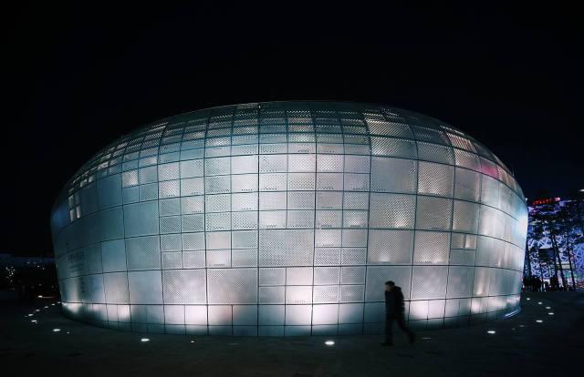 Dongdaemun Design Plaza - ảnh Phạm Anh Tuấn