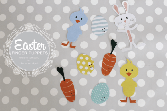 Free Easter Finger Puppets at tatertots and jello. Love all of these!