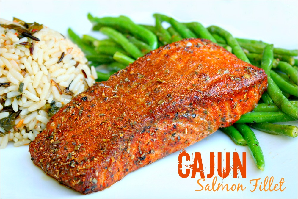 Cajun Spiced Salmon