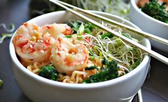 Quick Sesame Shrimp Ramen Stir-Fry 4