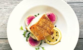Pepper Crusted Seabass 5