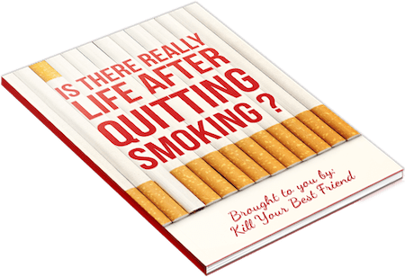 Book cover for Is There Life After Quitting Smoking