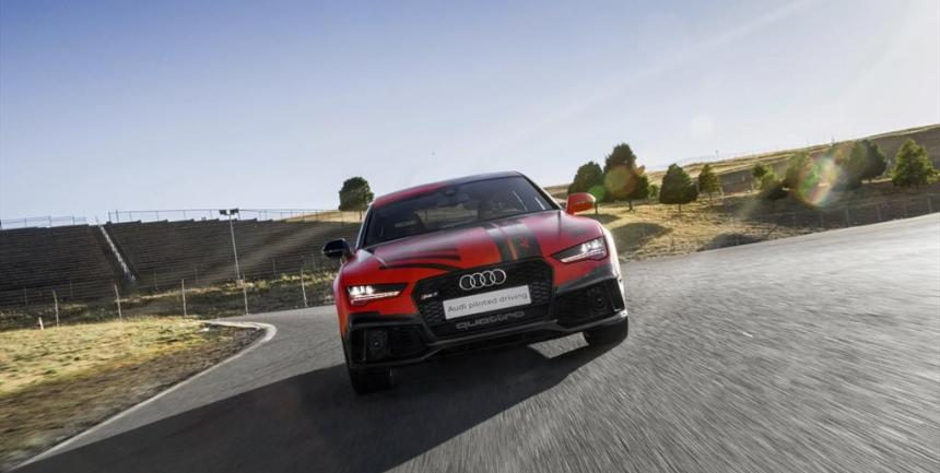 AUDI PILOTED DRIVING 5