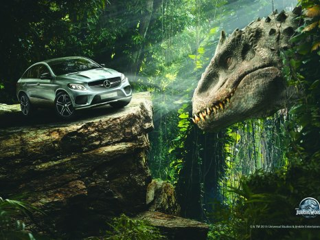 Das neue GLE Coupé  in Jurassic World // The all new GLE Coupé in Jurassic World