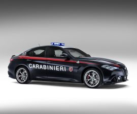 Alfa Romeo Giulia QV CarabinieriB