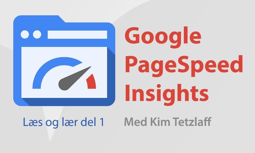 Google PageSpeed Insights – Læs og lær del 1