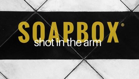 SOAPBOX shot episode graphic