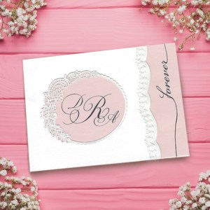 Forever and Always Wedding Card