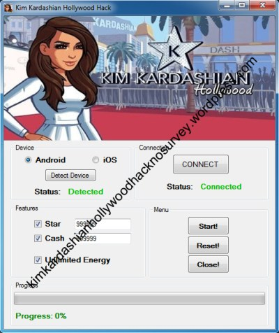 Kim Kardashian Hollywood Hack No Survey   Use this hack to add how many Star and Cash you want ...
