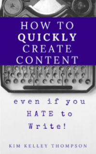 quickly create content for your website