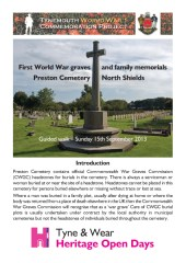 Preston Cemetery walk