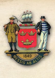 Former Tynemouth Borough crest