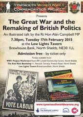 The Great War and the remaking of British politics