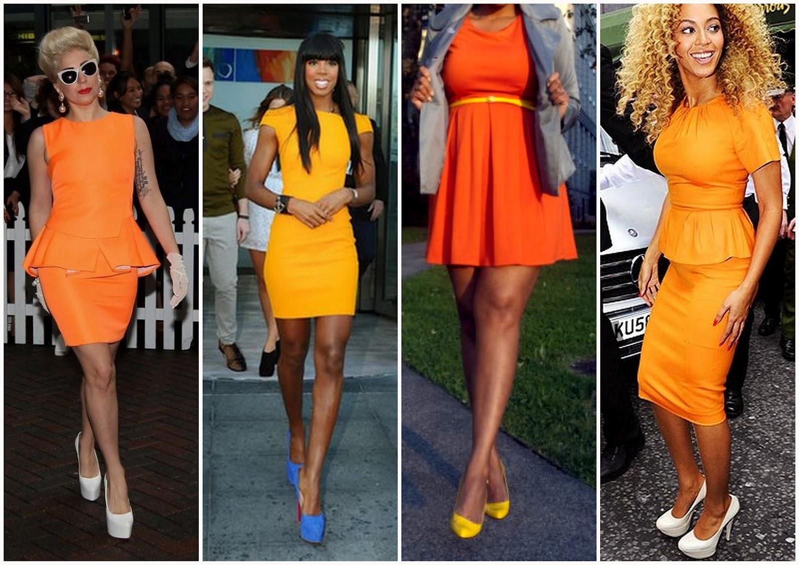 Masterly And Orange Dress I Talk Fashion What Color Goes What Colour Shoe Orange Furniture What Color Goes Orange Pants houzz 01 What Color Goes With Orange