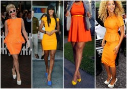 Small Of What Color Goes With Orange