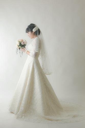 ウェディングドレス 撮影