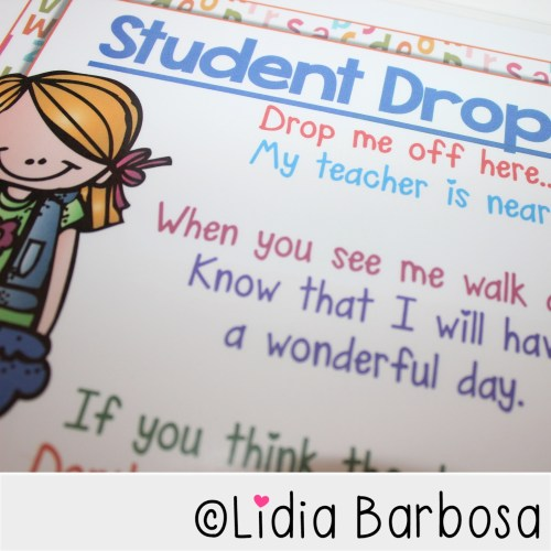 student drop off sign by lidia barbosa2