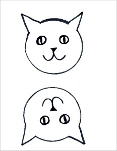Cat Puppet Template
