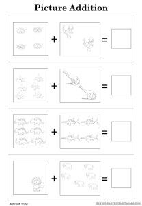 Free Addition Worksheets