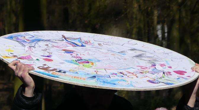 Waldgottesdienst der Kindertagesstätten 2018