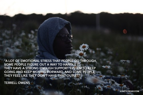 Terrel Owens quote about stress