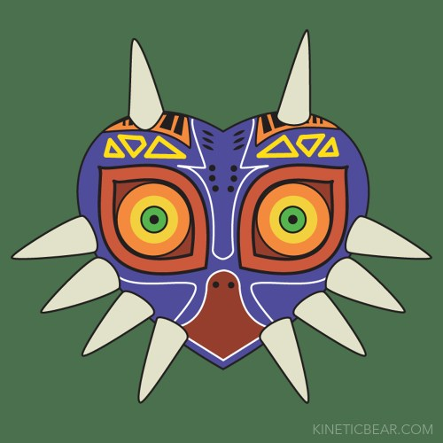 The legend of zelda fan art created in adobe illustrator