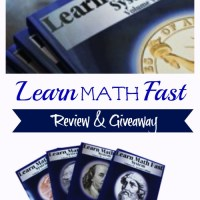 Learn Math Fast ~ Review & Giveaway {$50 Value}