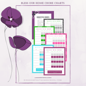 Bless Our Home Chore Charts
