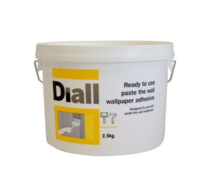Diall Paste The Wall Ready to Use Wallpaper Adhesive 2.5kg | Departments | DIY at B&Q