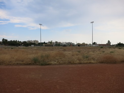 A practice field from the 2004 Olympics.