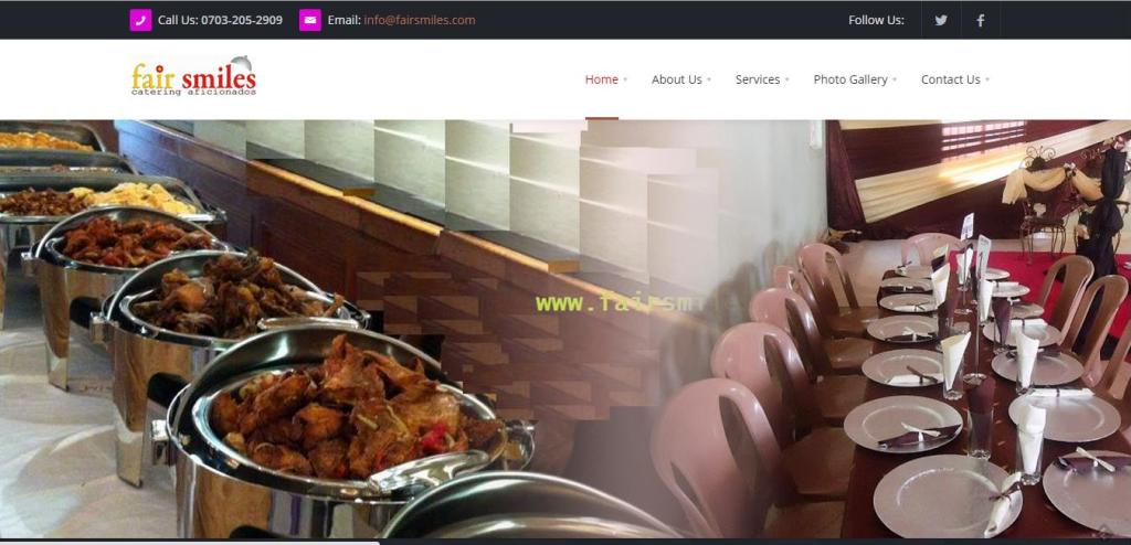 Fair smiles is a professional catering outfit designed to offer catering services with style and professionalism. Visit Website